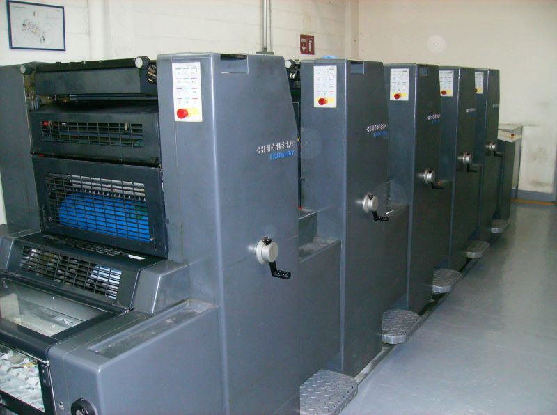 Image of used Heidelberg Printmaster 52-5 printing press