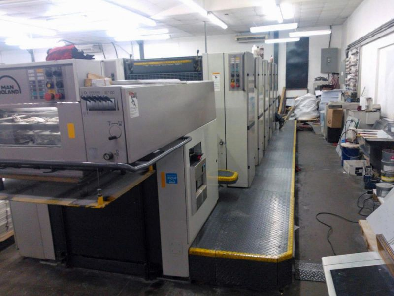 Image of used Roland 306 HOB printing press