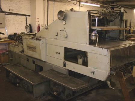 Image of Used Miller Johannisberg 104 Die Cutting Cylinder For Sale