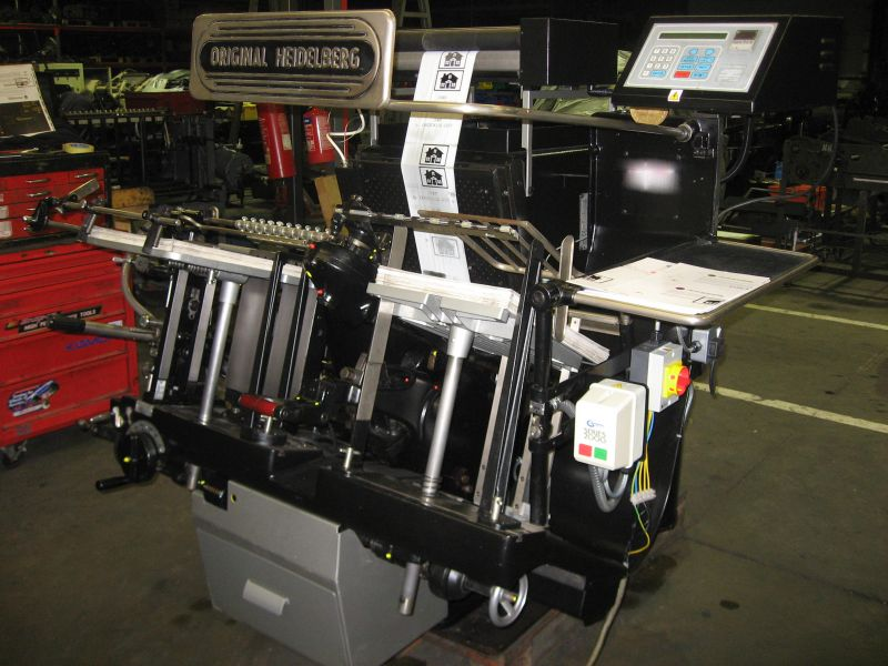 Image of Used Heidelberg GT Platen Hot Foiler