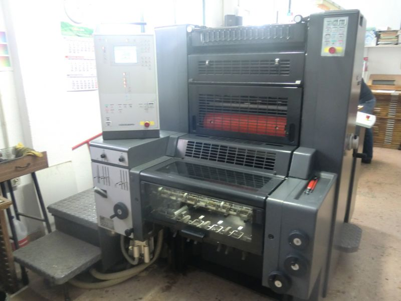 Image of used Heidelberg Printmaster 52-1 printing press