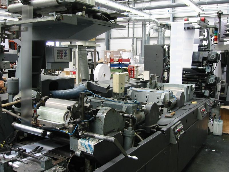 Image of Used Winkler & Dunnebier 202.00 Envelope Machine For Sale