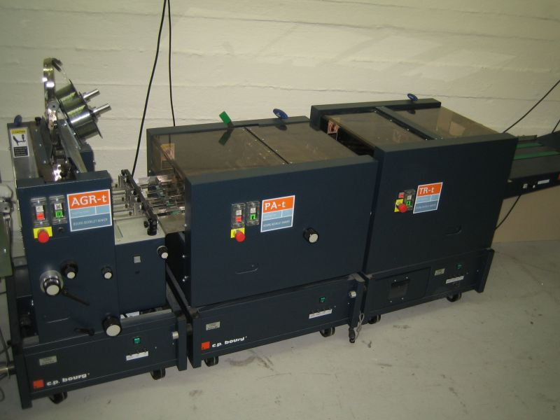 Image of used CP Bourg AGR-t gatherer, stitcher, trimmer