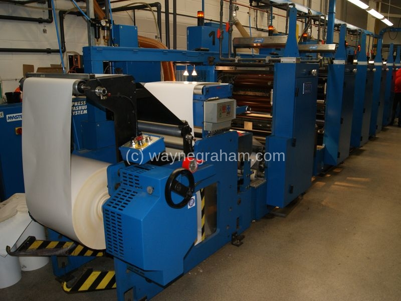 Image of Used RDP Marathon LF-200 Commercial Web Press For Sale