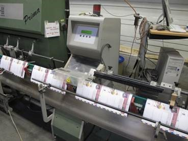 Image of used Muller Martini Prima gatherer, stitcher, trimmer