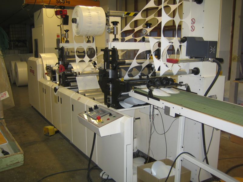 Image of Used Omega 410 Label Press For Sale