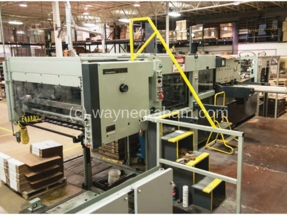 Image of Used Bobst SP 1120-ER Die Cutter With Stripping And Blanking Units For Sale
