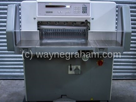 Image of Used Polar 58 E Guillotine For Sale