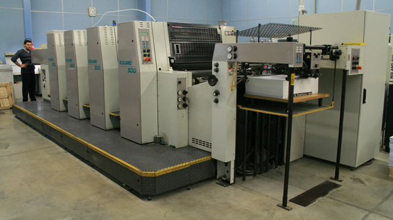Image of used Roland 304 HOB printing press