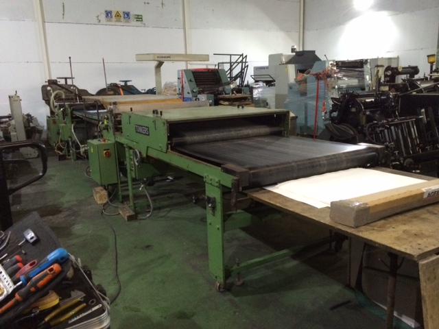 Image of used Tunkers 1400 laminator