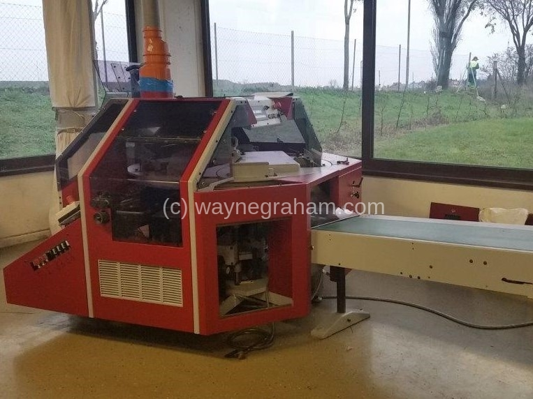 Image of Used Bobst Visioncut 1.6 Corrugated Die Cutter With Stripping Unit For Sale