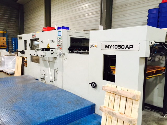 Image of Used Tecso MY 1050 AP Die Cutter With Stripping Unit For Sale