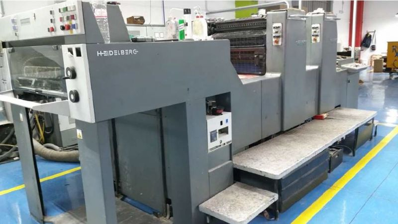 Image of used Heidelberg Speedmaster 74-2-H printing press