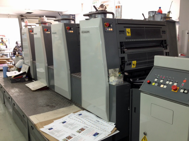 Image of Used Komori Spica 429 P Printing Press For Sale