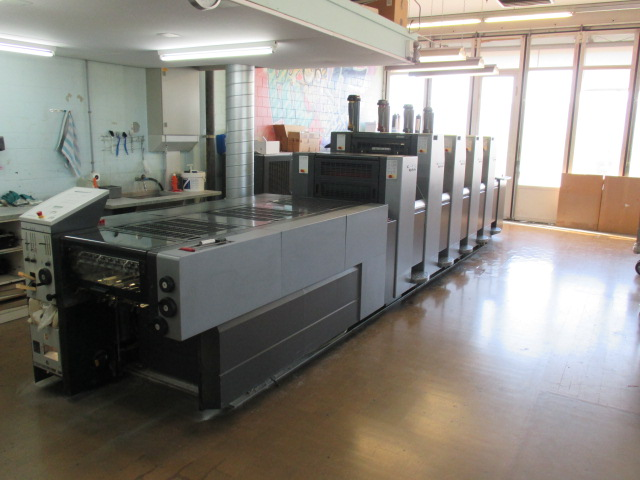 Image of Used Heidelberg SM-52-4-L Four Colour Printing Press With Coating Unit