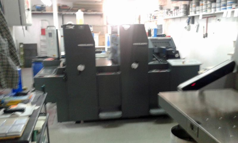 Image of Used Heidelberg PM 52-2 Two Colour Printing Press For Sale