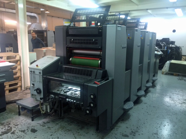 Image of Used Heidelberg SM 52-4-P Four Colour Printing Press For Sale