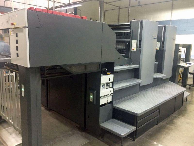 Heidelberg Speedmaster 102-2-P Printing Press For Sale - waynegraham com
