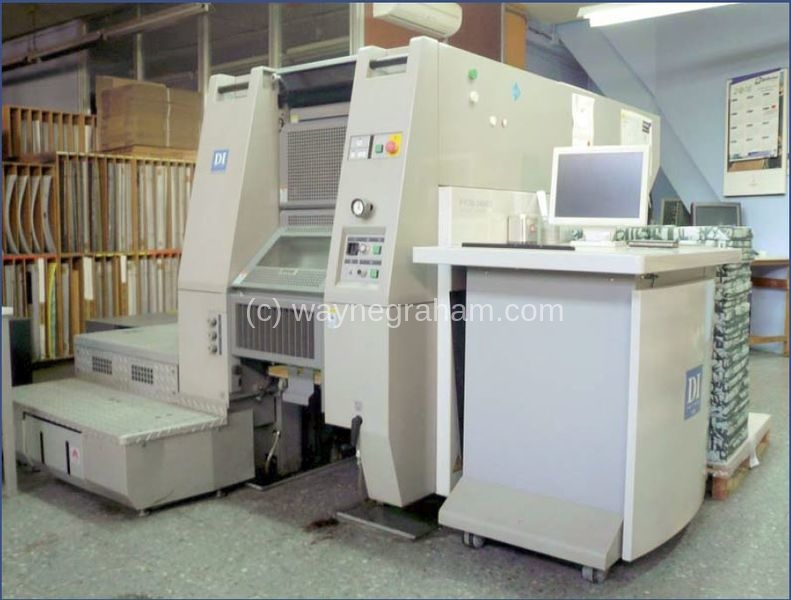 Image of Used Ryobi 3404DI Four Colour Digital Printing Press