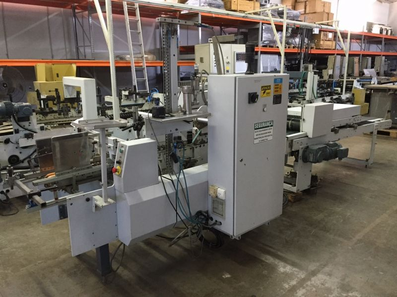 Imagem do CD usado Bobst especializados Folding Carton Gluer Venda