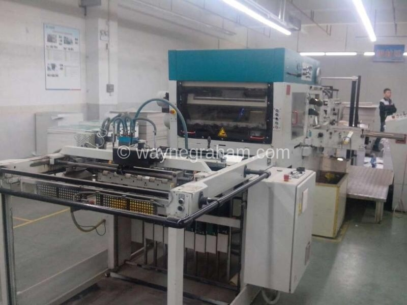 Image of Used Gietz FSA 870 Hot Foiling Machine For Sale