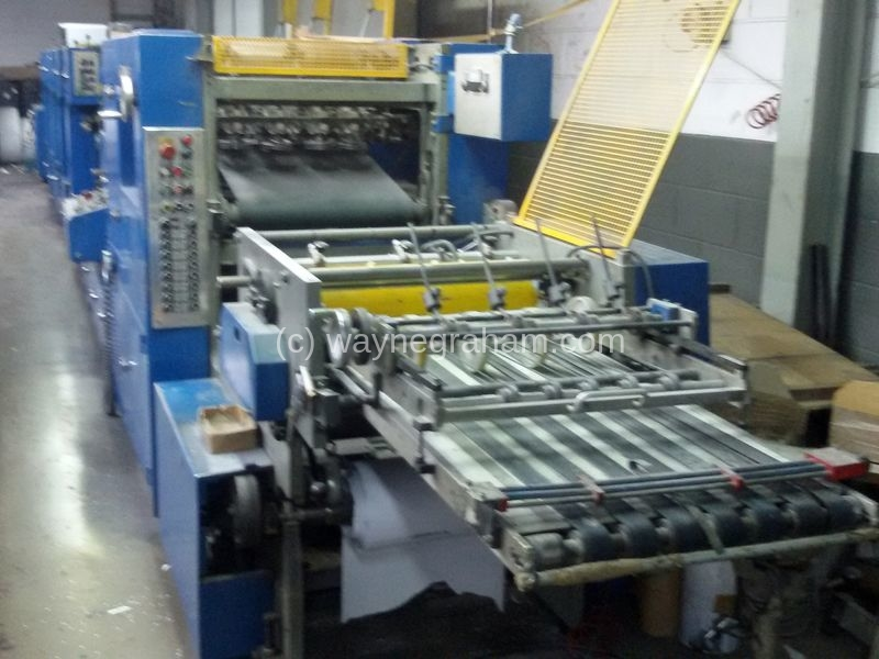 Image of Used Imer I-120 BF Continuous & Business Forms Web Press For Sale