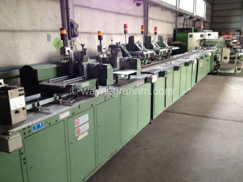 Image of Used Sitma C-80-750 Inserter Copy Wrapper For Sale