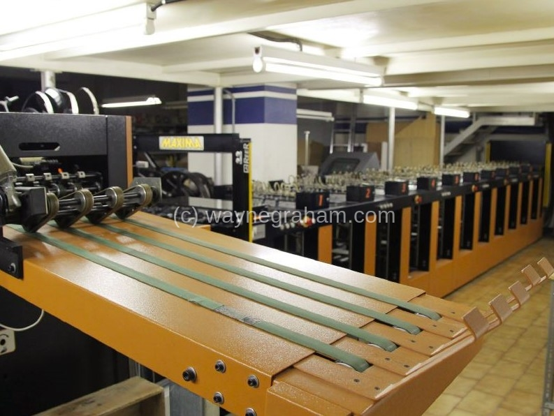 Image of Used Obscure Maxima 35 50 Gatherer Stitcher Trimmer For Sale