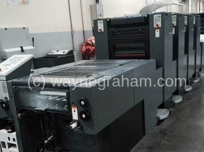 Image of Used Heidelberg Speedmaster 52-4-P-H Four Colour Printing Press For Sale