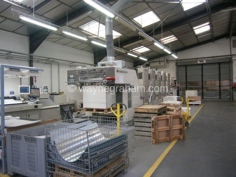 Image of Used Mitsubishi Diamond 3000S-5 Five Colour Printing Press For Sale