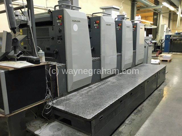 Image of Used Komori Spica 429 P Four Colour Printing Press For Sale