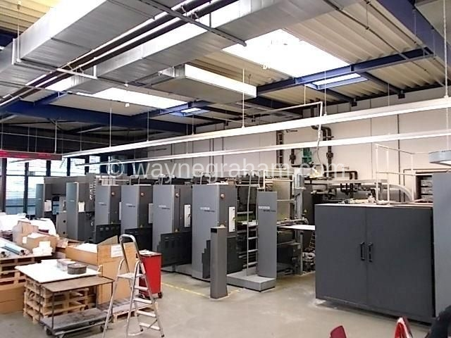 Image of Used Goss M-600 Folia Eight Colour Commercial Web Press For Sale