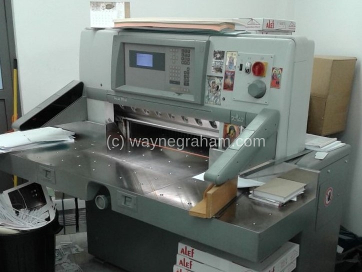 Image of Used Polar 78 XS Guillotine For Sale