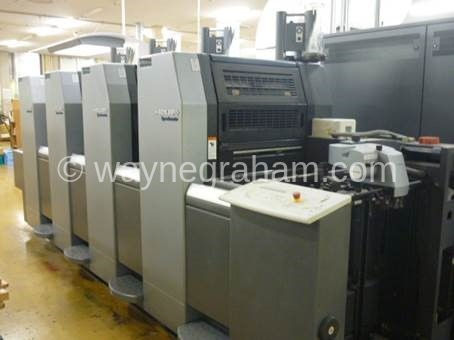 Image of Used Heidelberg Speedmaster 52-4 Anicolor Four Colour Printing Press For Sale