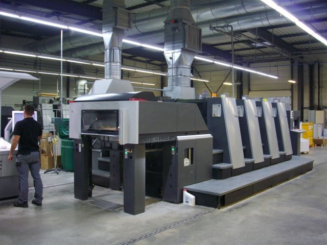 Image of Used Heidelberg Speedmaster XL 75-4 Four Colour Printing Press For Sale