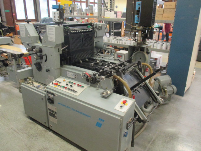 Image of Used Winkler & Dunnebier 212 Two Colour Envelope Overprinter For Sale