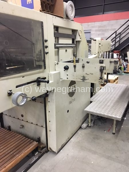 Image of Used Gietz 720 FSA Hot Foiling Machine