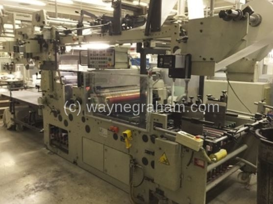 Image of Used Heiber + Schroder WP 1100-2 Window Patching Machine