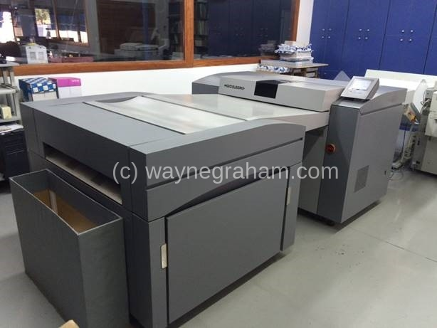 Image of Used Heidelberg Topsetter 74 Computer To Plate CTP System