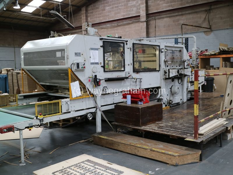 Image of BOBST SPO 1575 EEG Corrugated Die Cutter With Stripping Unit