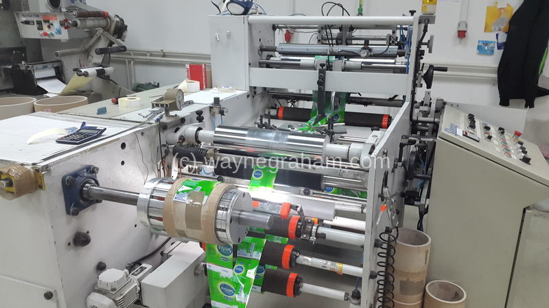 Image of Used DCM Sleeve Label Sleeve Forming Machine