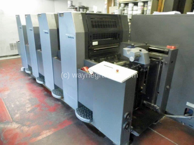 Image of Used Heidelberg Speedmaster 52-4 Four Colour Printing Press