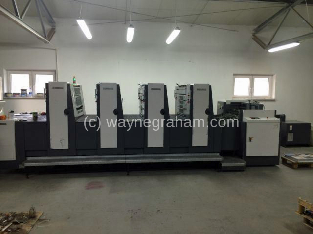 Image of Used Shinohara 75 IV Four Colour Printing Press