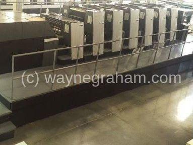 Image of Used Heidelberg Speedmaster XL 75-6-L Six Colour Printing Press with Coating Unit