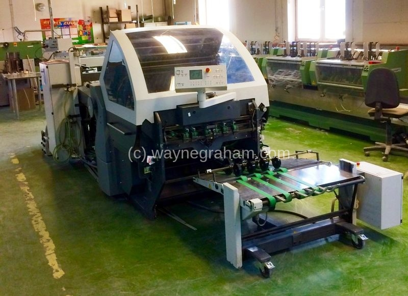 Image of Used Heidelberg Stahlfolder KH 78 Folder