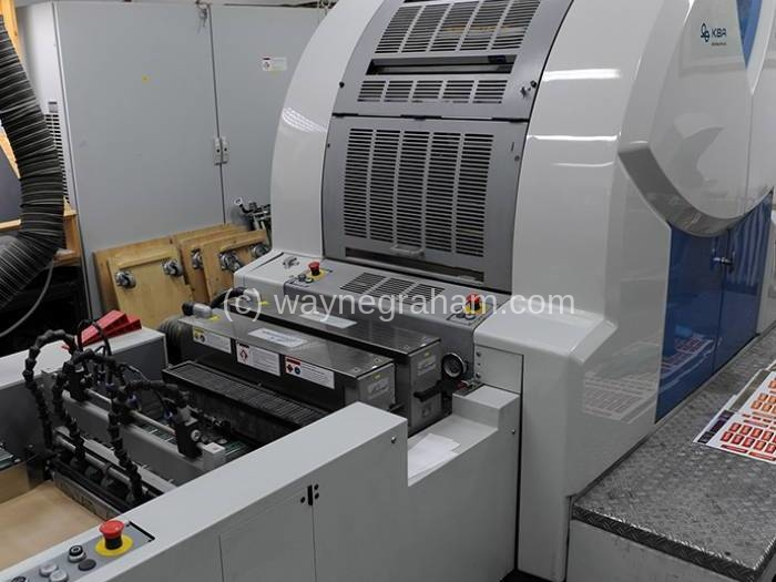 Image of Used KBA Genius 52 UV Five Colour Digital Printing Press With UV Dryer