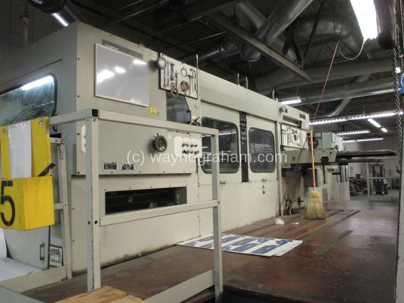 Image of Used Bobst SP 130-ER Die Cutter With Stripping And Blanking Units