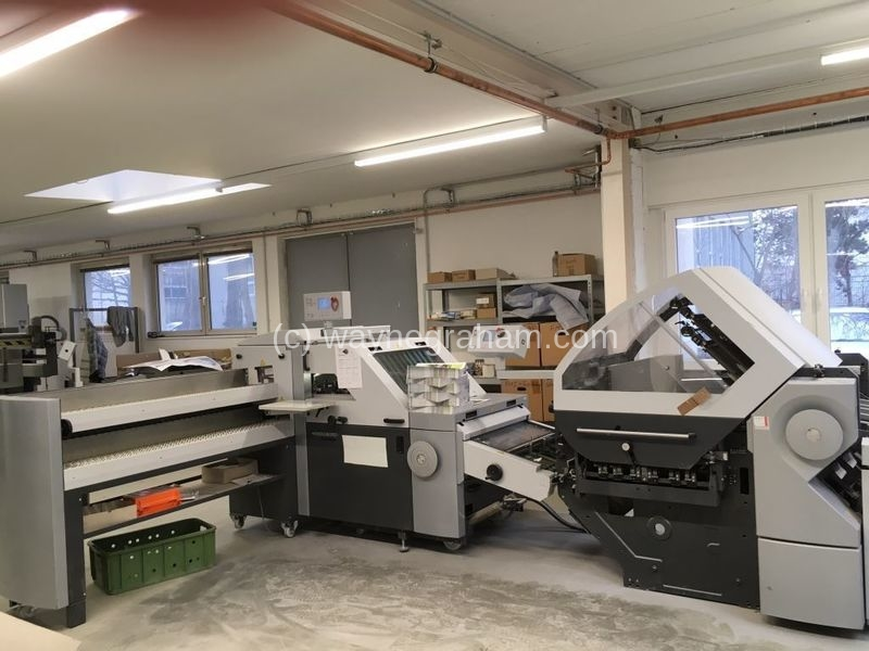 Image of Used Heidelberg Stahlfolder KH 78 4KTL Folder