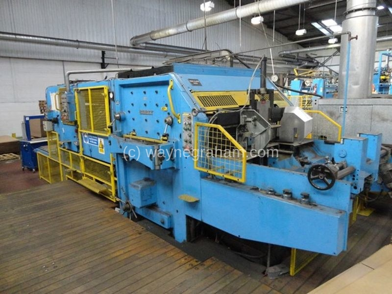 Image of Used Bobst SPO 1575 EEG Corrugated Die Cutter With Stripping Unit