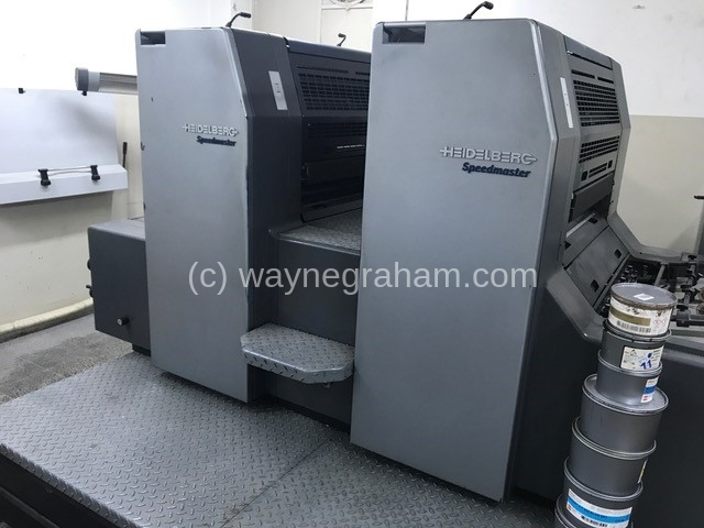 Image of Used Heidelberg Speedmaster 74-2 Two Colour Printing Press
